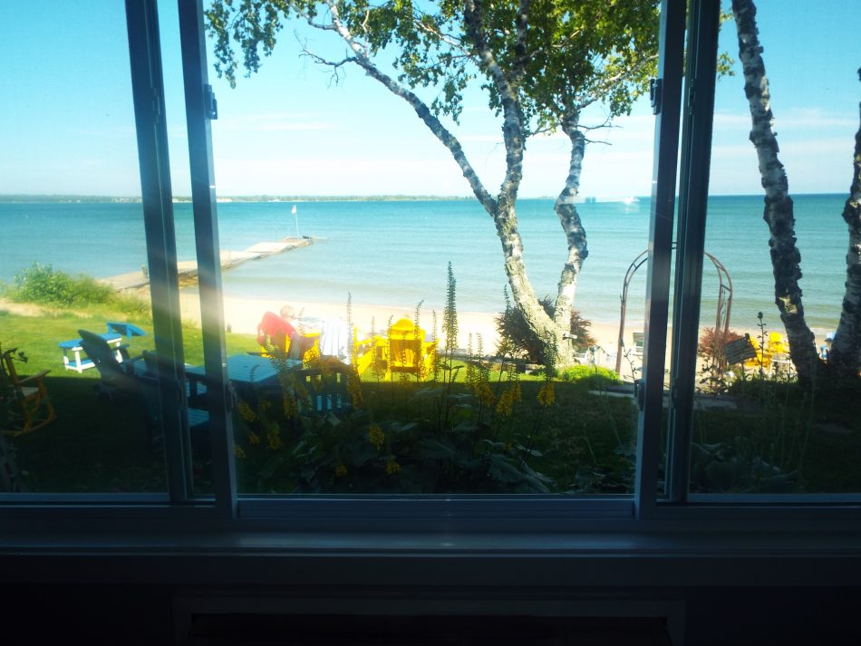 Lake View, Lake Michigan, Door County, 2 queen beds, Dog friendly, Pet friendly, room with a view,
