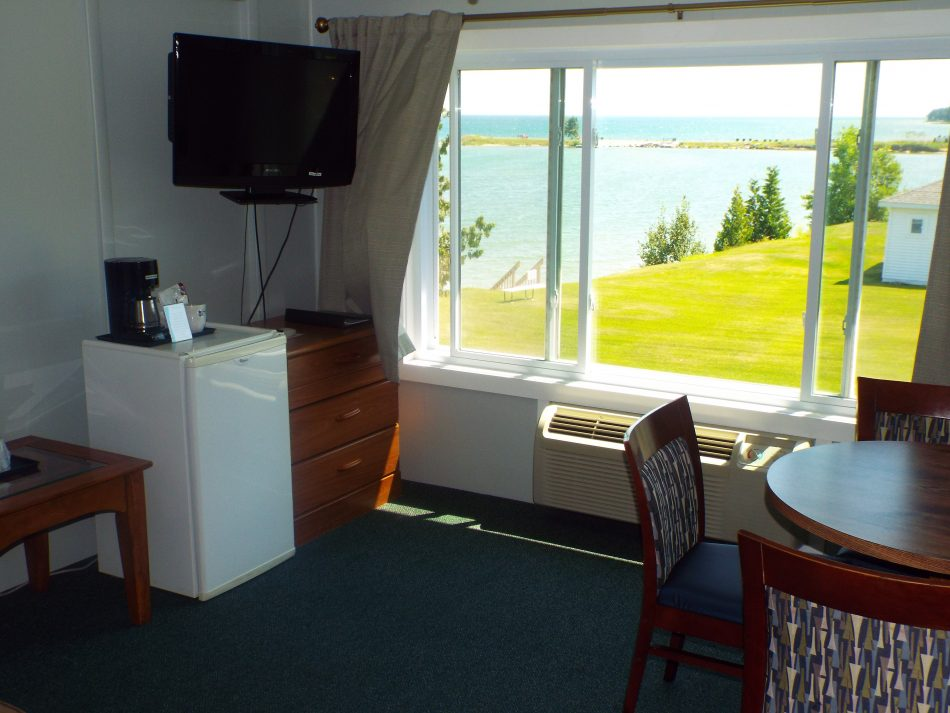 Room 207 living room view