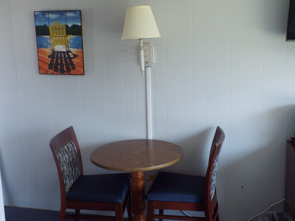 Room 208 small table
