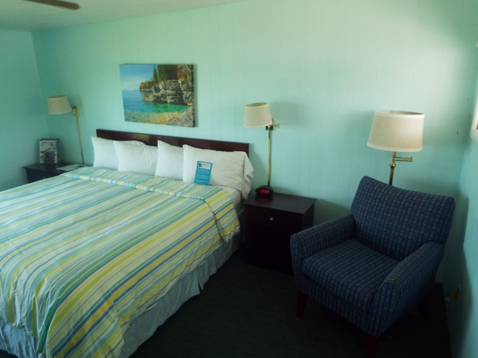 Room 203 - one king bed