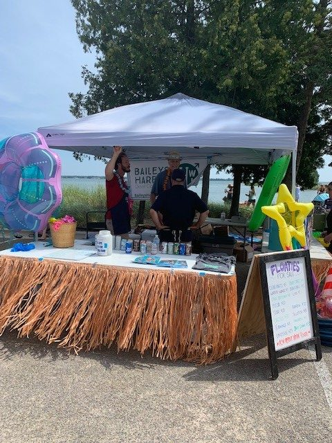 A Brand New Baileys Harbor Event Floaties and Food Trucks